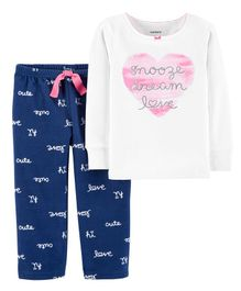 Carter's F18 GIRLS NIGHT SUIT Multi 4-5Y