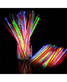 Smartcraft Glow Sticks Multicolor - Pack of 50
