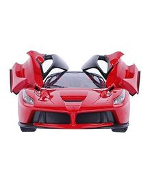 SmartCraft Remote Controlled Racing Car With Opening Doors - Multi Colour