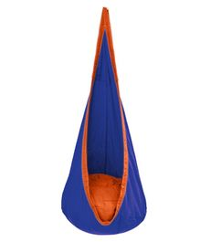 Slackjack Kids Nest Swing - Blue & Orange