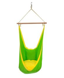 Slackjack Kids Swing - Green & Yellow
