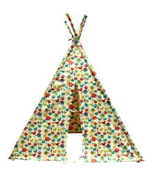 Slackjack Kids TeePee Tent Animal Print - Multicolour