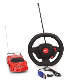 TurboS Super St Wheel Remote Control Toy Car - Red