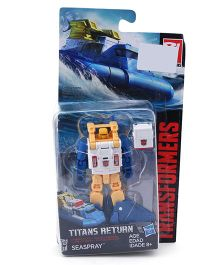 Transformers Generations Titans Return Seaspray Figure Yellow & Blue- 8 cm