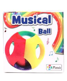 Petals Musical Ball - Multicolour