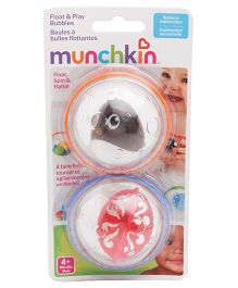 Munchkin Float & Play Bubbles Pack of 2 - Style May Vary