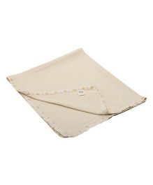 Yogis Baby Organic Swaddle Cloth - Beige