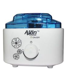 Allin Exporters Ultrasonic Water Bottle Humidifier With Auto Changing LED Light - White