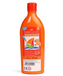 Faber Castell Ready Mix Tempera Paint Bottle Orange - 500 ml