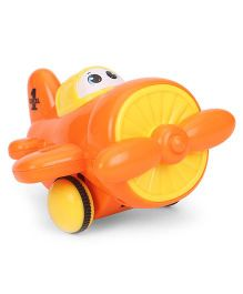 Playmate Wind Up Air Plane Toy - Orange