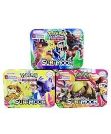 Emob Go Sun And Moon Trading Card Game Multi Color (Assorted Pack)