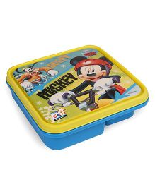 Disney Mickey & Friends Lunch Box With 3 Compartments & Spoon (Color May Vary)