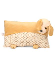 Funzoo Teddy Bear Soft Toy Pillow - Brown (Style May Vary)