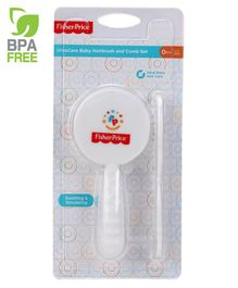 Fisher-Price Ultra Care Baby Hairbrush And Comb Set for Newborns and Toddlers