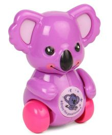 Playmate Wind Up Koala Toy - Purple