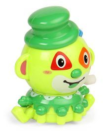 Playmate Wind Up Clown Toy - Green