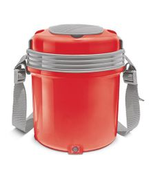 be69507e133 Milton Electron Electric Lunch Pack With 3 Stainless Steel Container Red -  360 ml Each