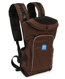Mee Mee Cuddle up Baby Carrier Brown