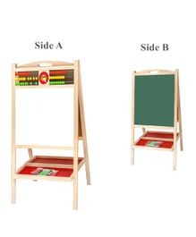 Emob Wooden Foldable Drawing & Writing Board - Beige