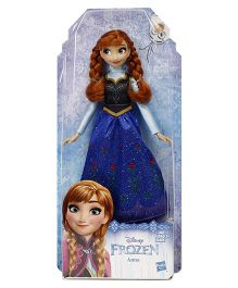 Disney Anna Frozen Classic Fashion Doll Blue - 27 cm