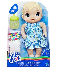 Baby Alive Lil Sips Doll Blue - 29 cm