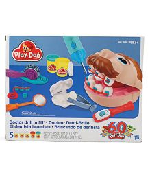 Play Doh Doctor Drill N Fill - Multicolour