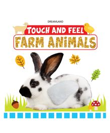 Touch and Feel Farm Animals Book - English