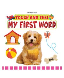 Touch & Feel My First Word Book - English