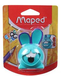 Maped Croc Croc Bunny Shape Sharpener -  Teal Blue (Color May Vary)