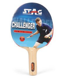 Stag Table Tennis Racket Challenger - Red