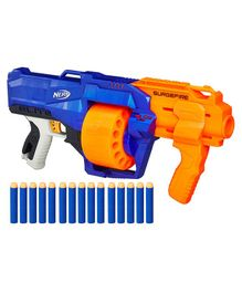 Nerf N-Strike Surgefire Dart Gun - Blue Orange