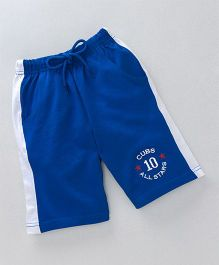 JusCubs Casual Boys Shorts - Royal Blue