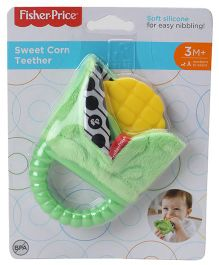 Fisher Price Sweet Corn Teether - Green Yellow