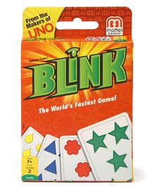Mattel Blink Cards Game - Multi Color