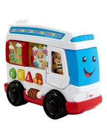 Fisher Price Laugh & Learn Around Town Bus - Multicolor