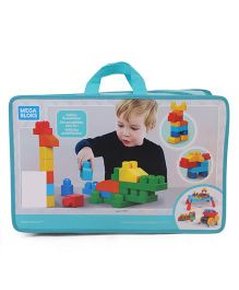 Fisher Price Mega Bloks Deluxe Building Bag Multicolor - 150 Pieces