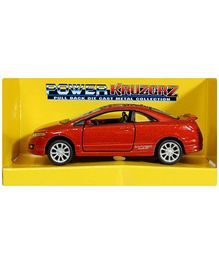 Maisto Die Cast Mini Model Pull Back Car - Red