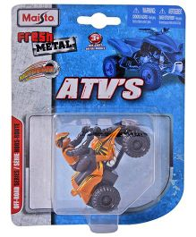 Maisto Die Cast ATV Haulers Pull Back Toy Car - (Color May Vary)