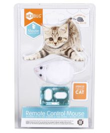 Hexbug Remote Control Mouse Toy - White