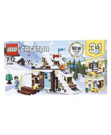 Lego Creator Modular Winter Vacation Building Set - 374 Pieces