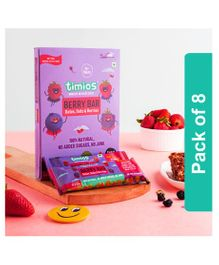 Timios Berry Bar Pack of 8 - 30 gm Each