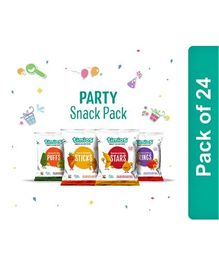 Timios Kids Snack Mix Flavors Pack of 24 - 30 gm Each