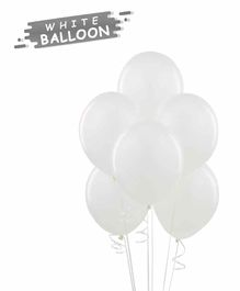 NHR Balloons White - Pack of 100