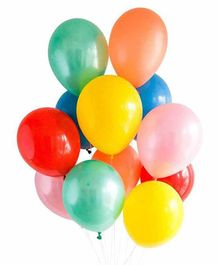 NHR Decoration Balloons Multicolor - Pack of 100 pieces