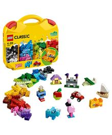 Lego Classic Creative Suitcase With Bring Along Bricks Multicolour - 213 Pieces
