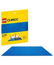 Lego Classic Baseplate Blue - 1 Piece  -10714