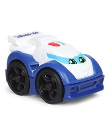 Fisher Price Mega Bloks First Racers Toy Car - Blue White