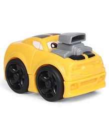 Fisher Price Mega Bloks First Racers Toy Car - Yellow