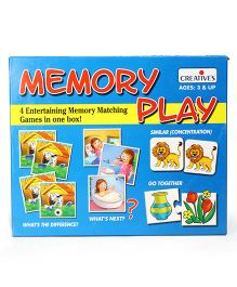 Creative Memory Play Game - Blue