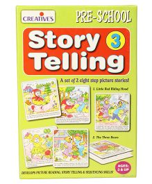 Creative Story Telling Step by Step 3 - Green